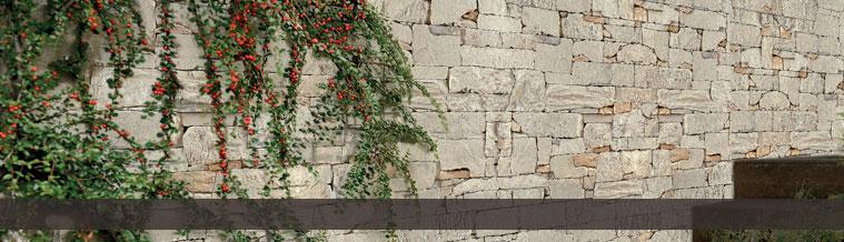 Wandverblender in Natursteinoptik Murok Lucania Beigegrün - <span style='color:#fff;font-size:10px'>Zum Zoomen klicken</span>