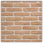 Yellow - Decorative brick collection Granulit 20-30