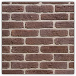Antique - Decorative brick collection Granulit 20-30