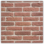 Red Rustic - Decorative brick collection Granulit 20-30