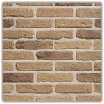 Jaune Antique - Plaquettes de brique Granulit 20-30
