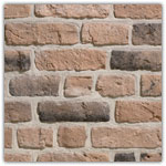 Pink - Decorative brick collection Granulit 50