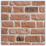 Orange - Decorative brick collection Granulit 50