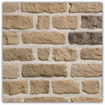 Yellow - Decorative brick collection Granulit 50