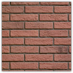 Red - Decorative brick collection Interfix