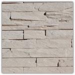 gebroken wit - Natuursteenstrippen Murok Strato
