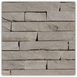 lichtgrijs - Natuursteenstrippen Murok Strato