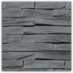 Antraciet  - Natuursteenstrippen Murok Strato