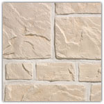 Blanco piedra  - Plaquetas de revestimiento Murok Rustic
