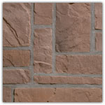 Bruin - Natuursteenstrippen Murok Rustic