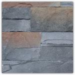 Gris nuancé - Plaquettes de parement Murok Lucania