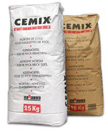 Mortier-colle Cemix Uniflex