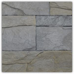 Gris clair - Plaquettes de parement Murok Arkansas