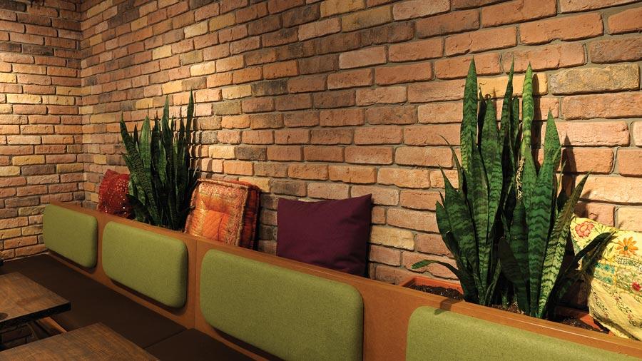 de ryck by weser wandverblender granulit backsteinriemchen f r innen und au en. Black Bedroom Furniture Sets. Home Design Ideas